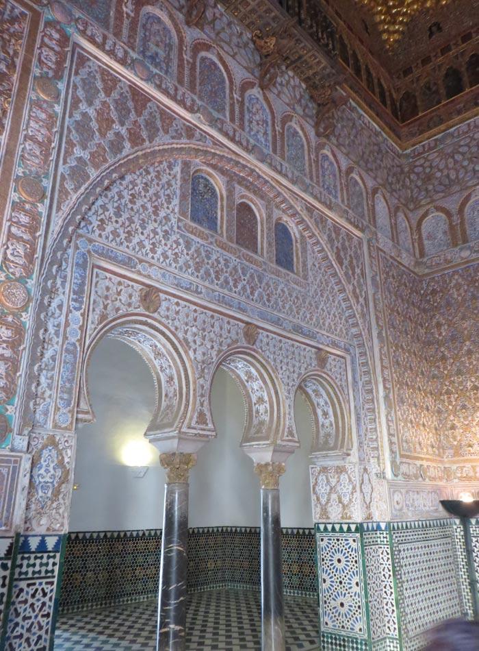 Salón de Embajadores de los Reales Alcázares monumentos de Sevilla