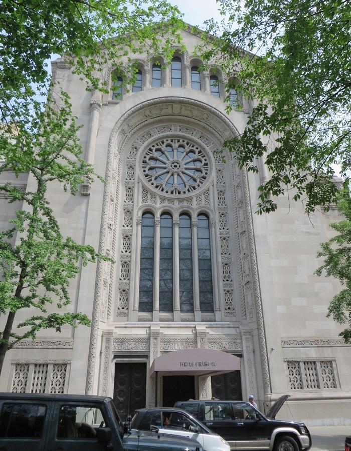 Templo de Emanu-El, la sinagoga más grande del mundo