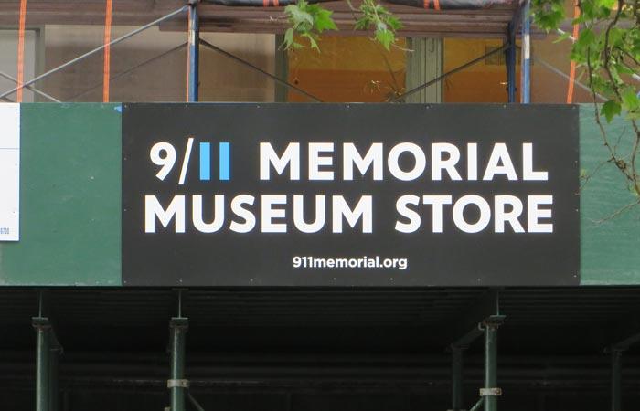 Tienda del Memorial del 11-S