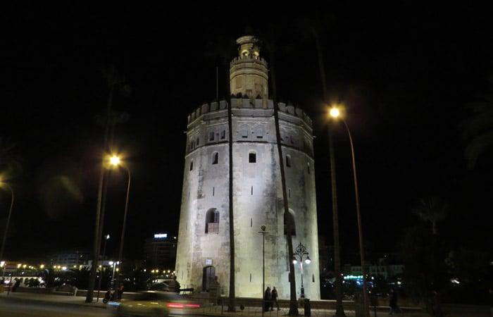 Torre del Oro qué ver en Sevilla en dos días