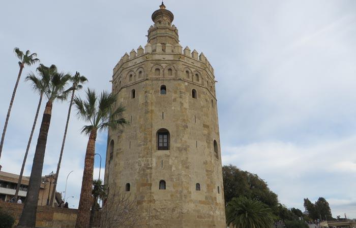 Torre del Oro monumentos de Sevilla