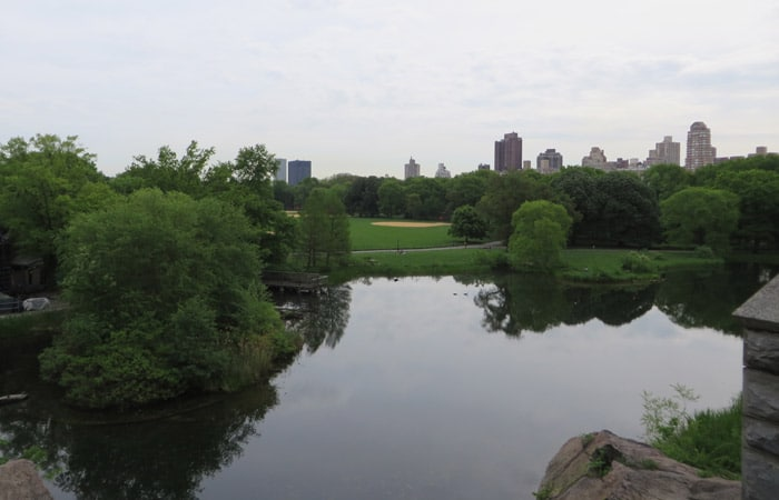 Turtle Pond paseo en bici por Central Park