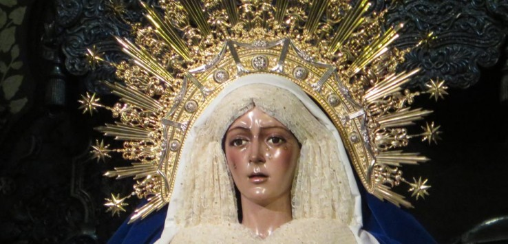 Virgen Macarena vírgenes de Sevilla