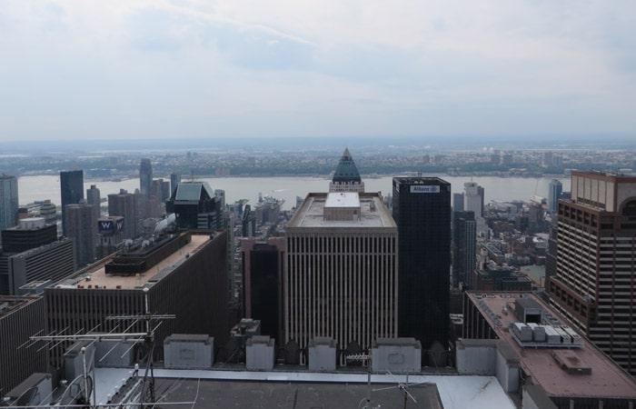 Panorámica desde el Rockefeller Center
