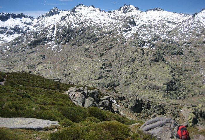 Nieve en las cumbres de Gredos
