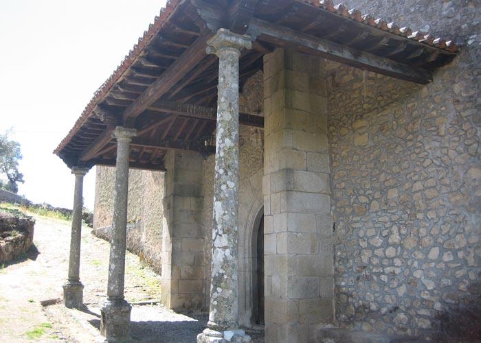 Ermita de la Virgen de la Cuesta en Miranda del Castañar Camino de los Prodigios