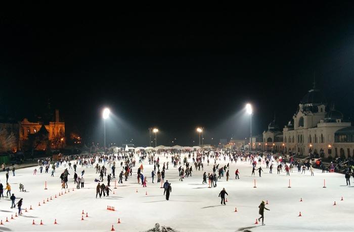Pista de hielo de Budapest