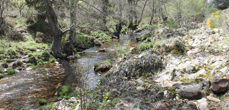 Río Agadón Sierra de Francia rutas