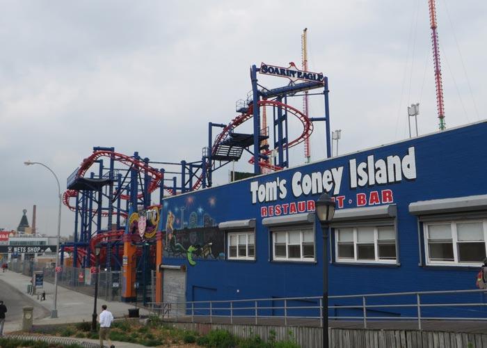 Una de las atracciones visitar Coney Island