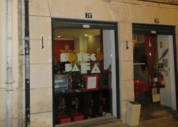 Restaurante Boteco da Fá comer en Lisboa