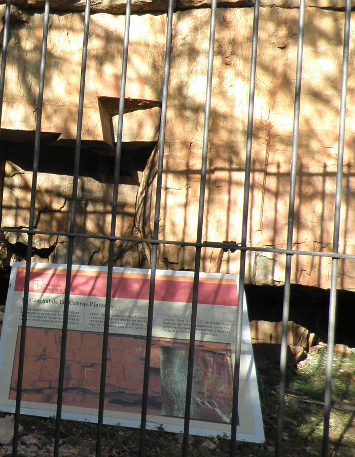 Canchal de las Cabras Pintadas Cascada del Chorro
