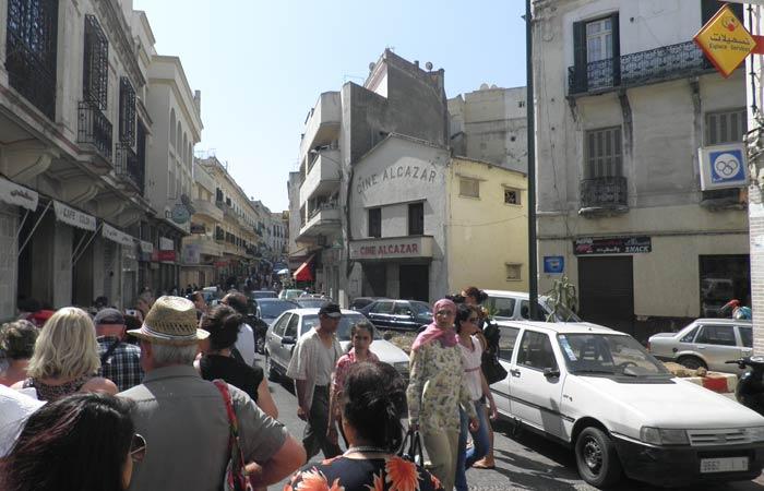 Cine Alcázar un día en Tánger