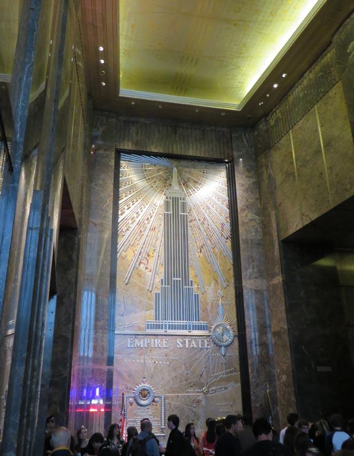 Hall del Empire State Building