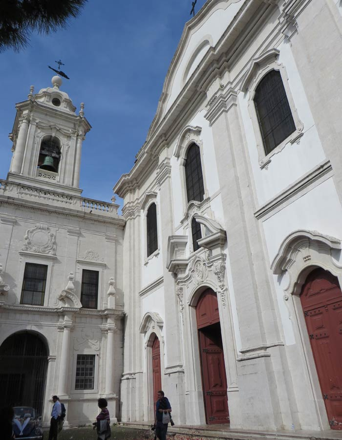 Iglesia de Nuestra Señora de Gracia miradores de Lisboa