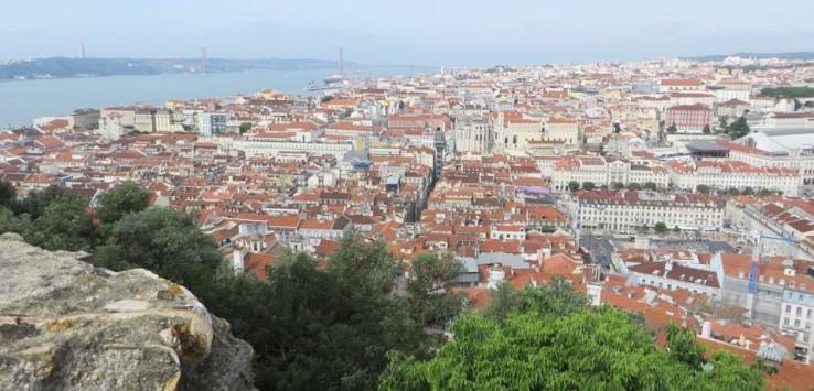 Vista desde el Castillo de San Jorge miradores de Lisboa