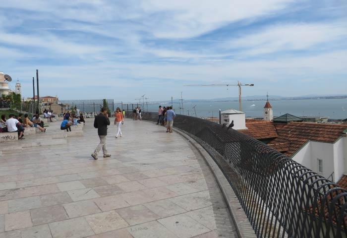 Mirador de Santa Catarina miradores de Lisboa