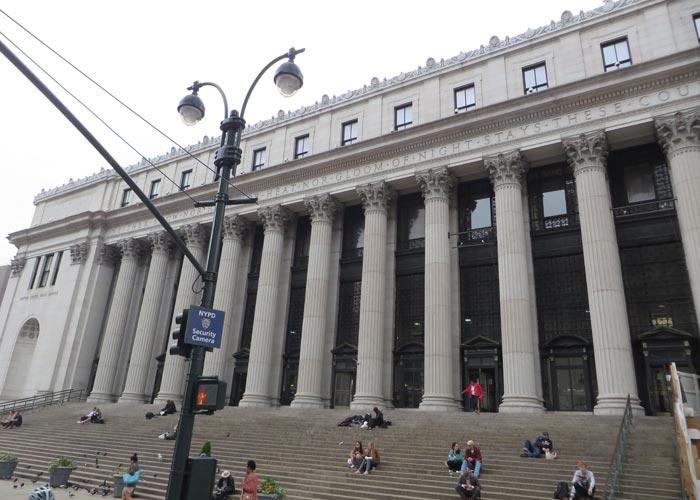 Oficina central correos nueva york viaje con pablo for Oficina central de mapfre