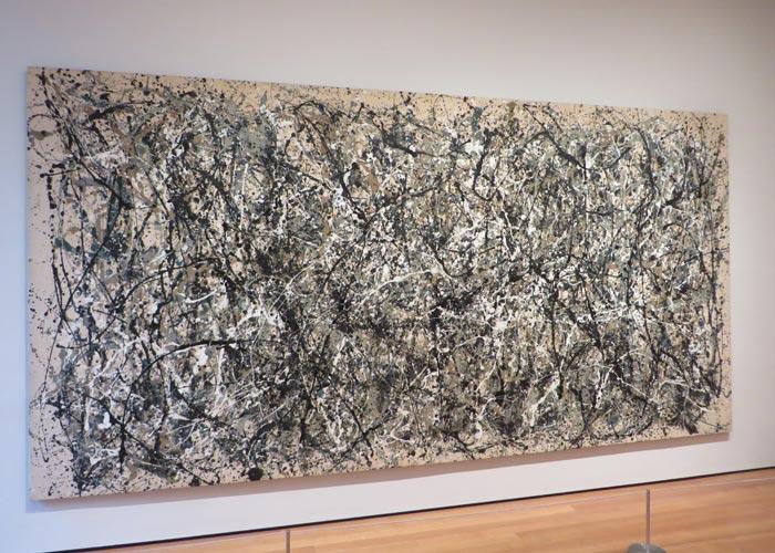 """""""One: Number 31"""" de Pollock en el MoMA"""