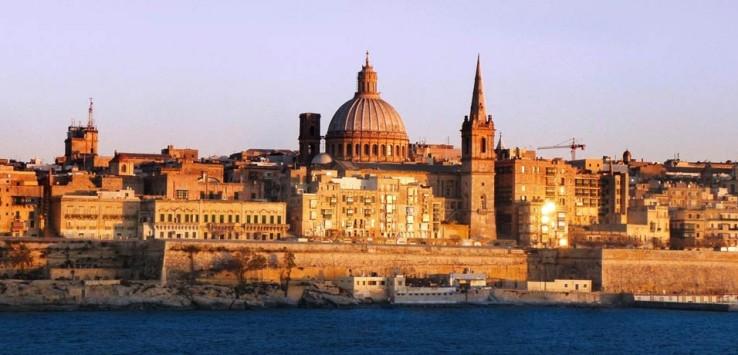 Panorámica de La Valeta qué hacer en Malta