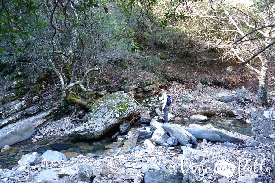 Paso del río Batuecas