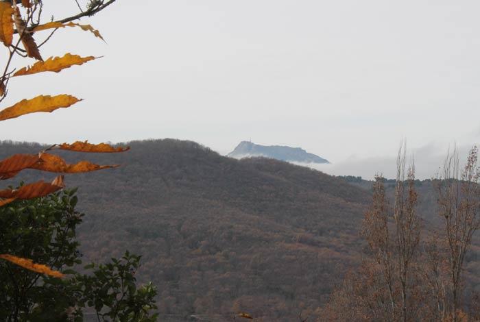 Vista de la Peña de Francia Bosque de los Espejos