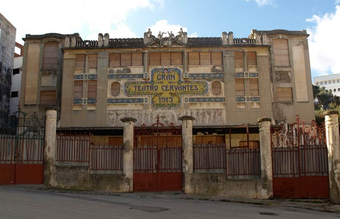 Gran Teatro Cervantes un día en Tánger