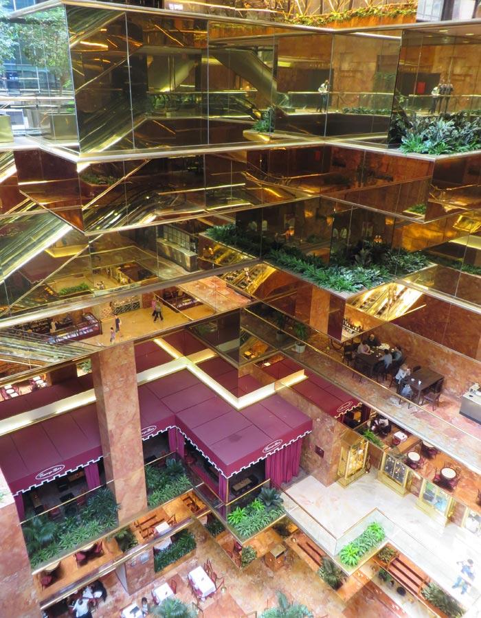 Interior de la Torre Trump