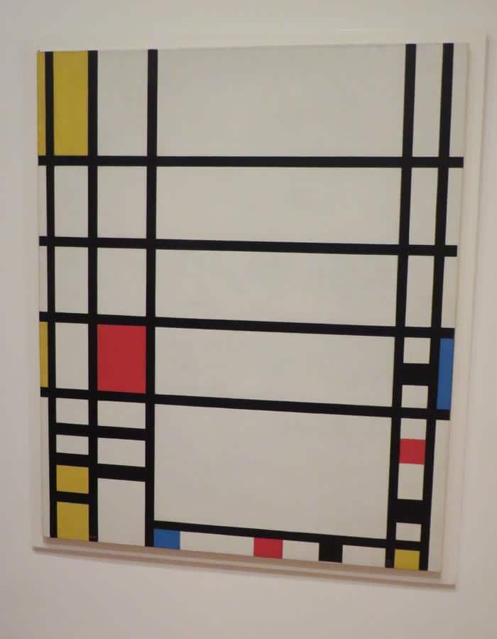 """""""Trafalgar Square"""" de Mondrian en el MoMA"""