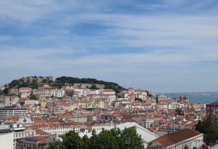 Vistas desde el Mirador de San Pedro de Alcántara miradores de Lisboa