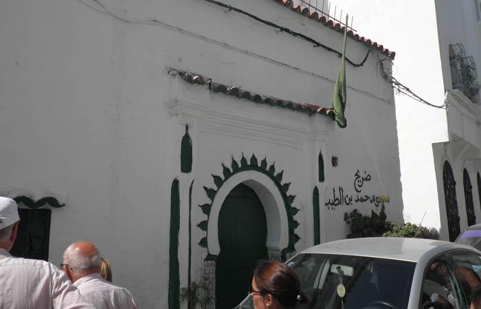 Una de las viviendas de la Alcazaba un día en Tánger