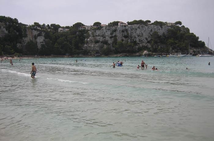 Cala Galdana mejores calas de Menorca