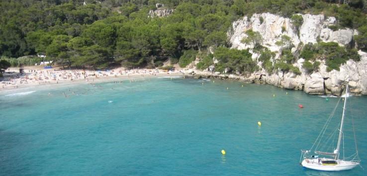 Cala Macarella mejores calas de Menorca