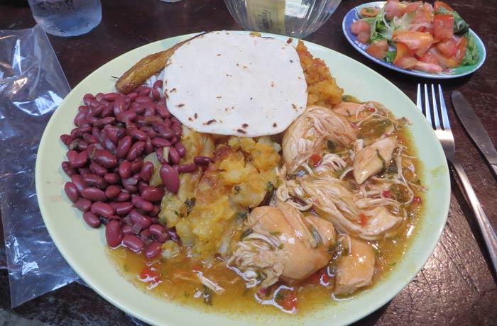 El casado, plato típico del país Costa Rica por libre