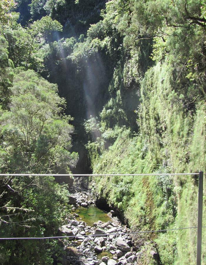 Puente sobre el barranco del Risco levada das 25 fontes