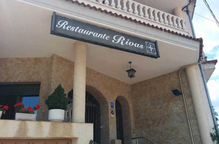 Restaurante Rivas en Vega de Tirados restaurantes en Salamanca provincia