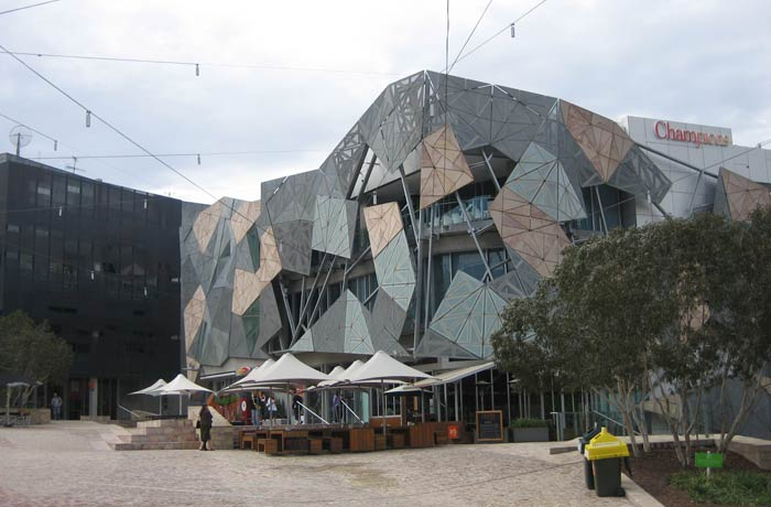 Edificio del Australian Centre for the Moving Image qué ver en Melbourne