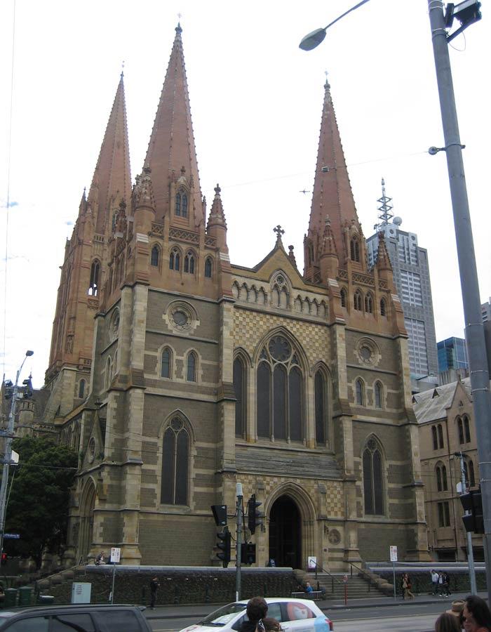 Catedral de San Pablo qué ver en Melbourne