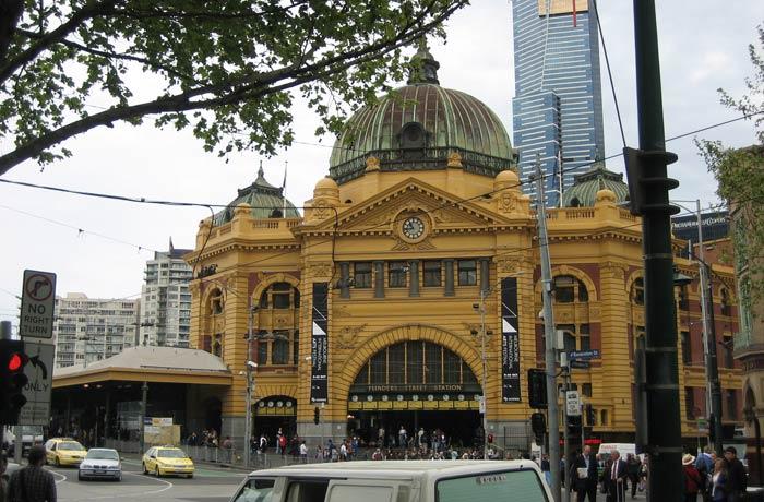 Flinders Street Station qué ver en Melbourne