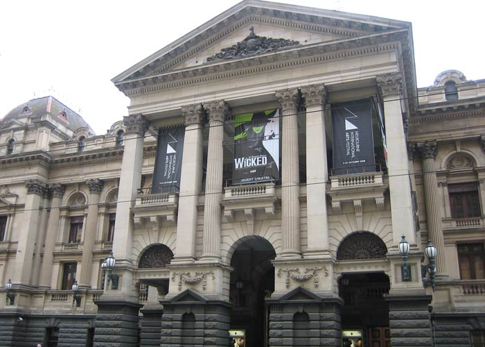 Melbourne City Town Hall, sede del Ayuntamiento
