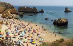 Playa de Dona Ana en Lagos mejores playas del Algarve