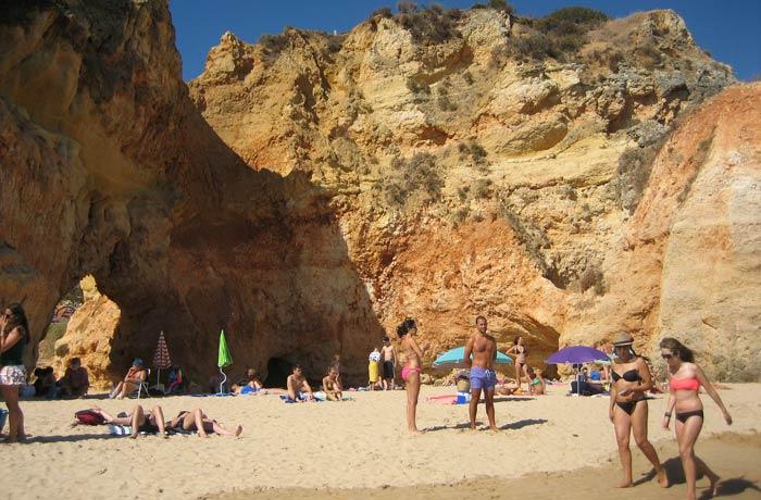 Playa dos Tres Irmaos de Portimao mejores playas del Algarve
