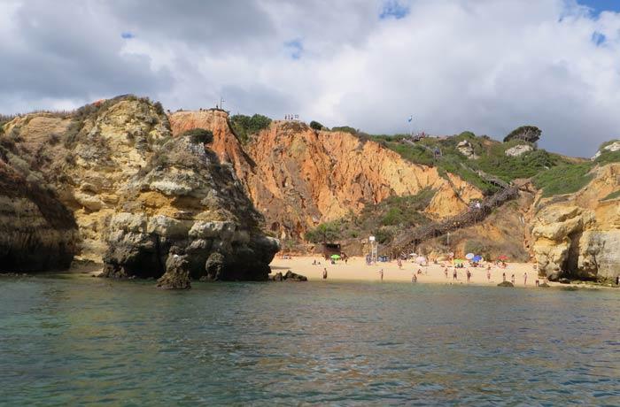 Playa do Camilo en Lagos mejores playas del Algarve