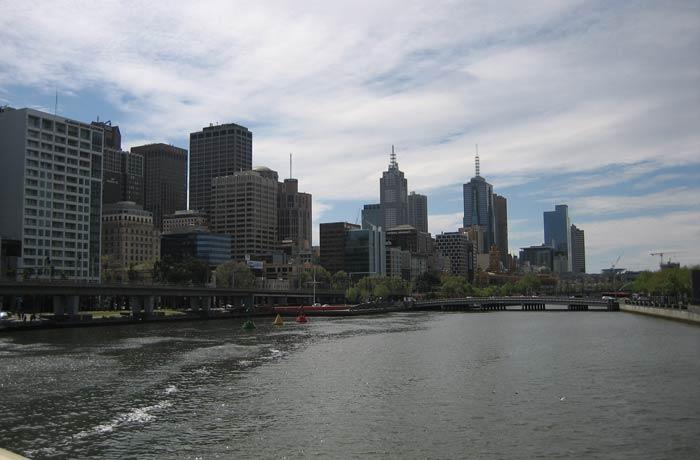 Río Yara desde el puente Princes qué ver en Melbourne