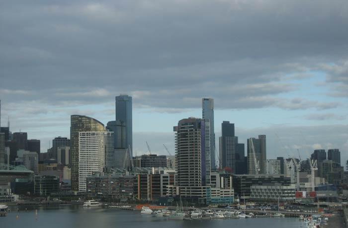 Slyline de los rascacielos qué ver en Melbourne