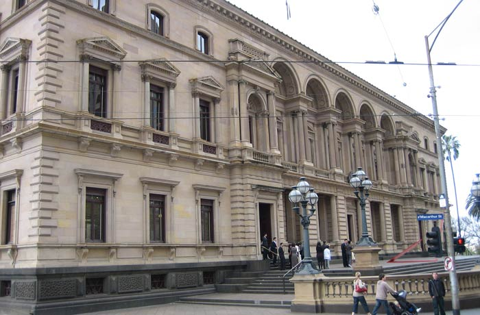 The Old Treasury Building qué ver en Melbourne