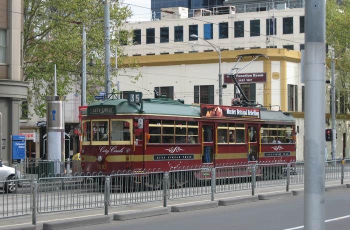 Tranvía gratuito City Circle qué ver en Melbourne