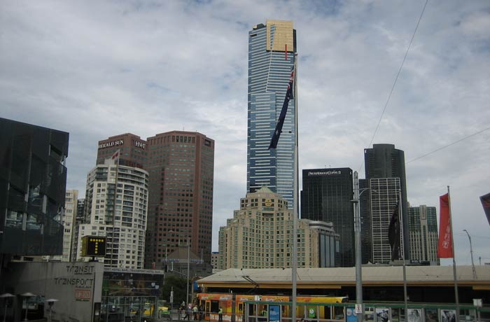 Edificios desde Federation Square qué ver en Melbourne