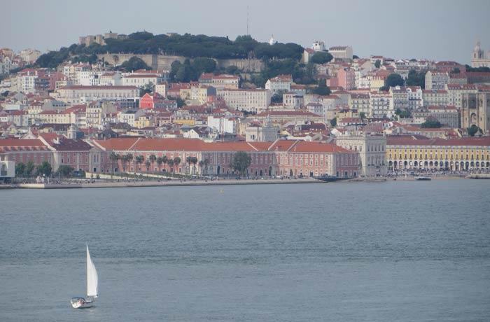 Vista de Lisboa desde Cacilhas