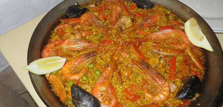 Paella comer en Formentera