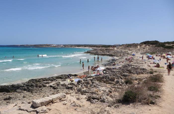 Sa Roqueta Playas de Formentera
